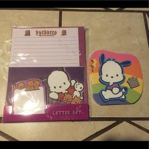 Pochacco Letter Set